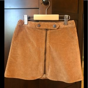 Zara Girls Skirt w/ Zip sz 8